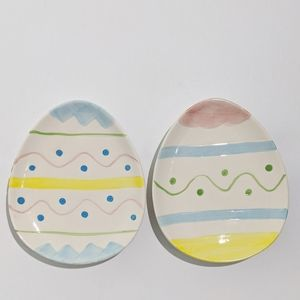 Other - 🐰 Two Easter Egg Plates